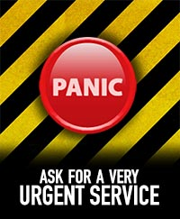 Antipanic button