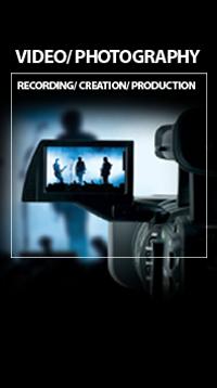 Grabación y composición de Video y Fotografía